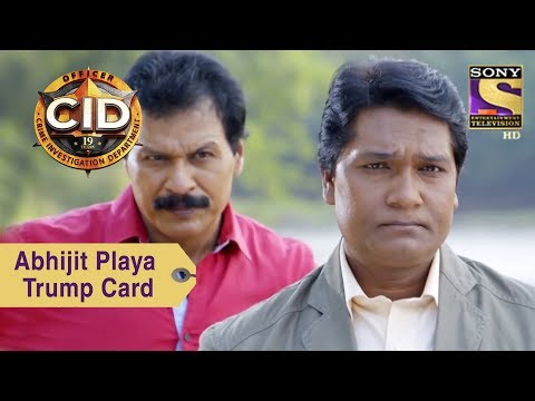 Your Favorite Character | Abhijit Plays A Trump Card | CID