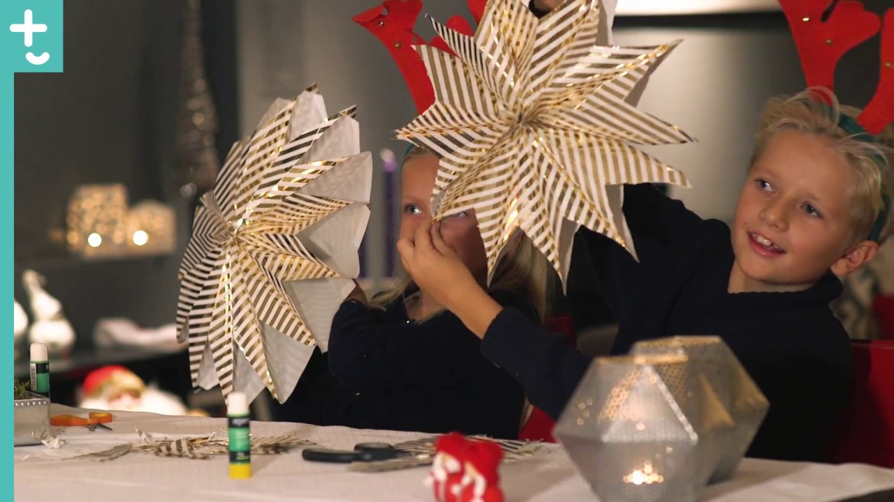DIY: Lettlaget papirstjerne