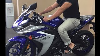 Best Beginner Sports Motorcycle - New 2015 Yamaha r3 vs. Yamaha R6! (320cc vs 600cc)