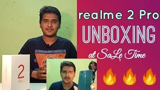 Realme 2 Pro Unboxing and Sale time Review