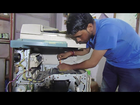 3300 canon IR how to servicing 3300 photo copy machine part 2
