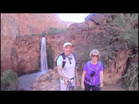 Anne & Paul Hike Havasu Falls