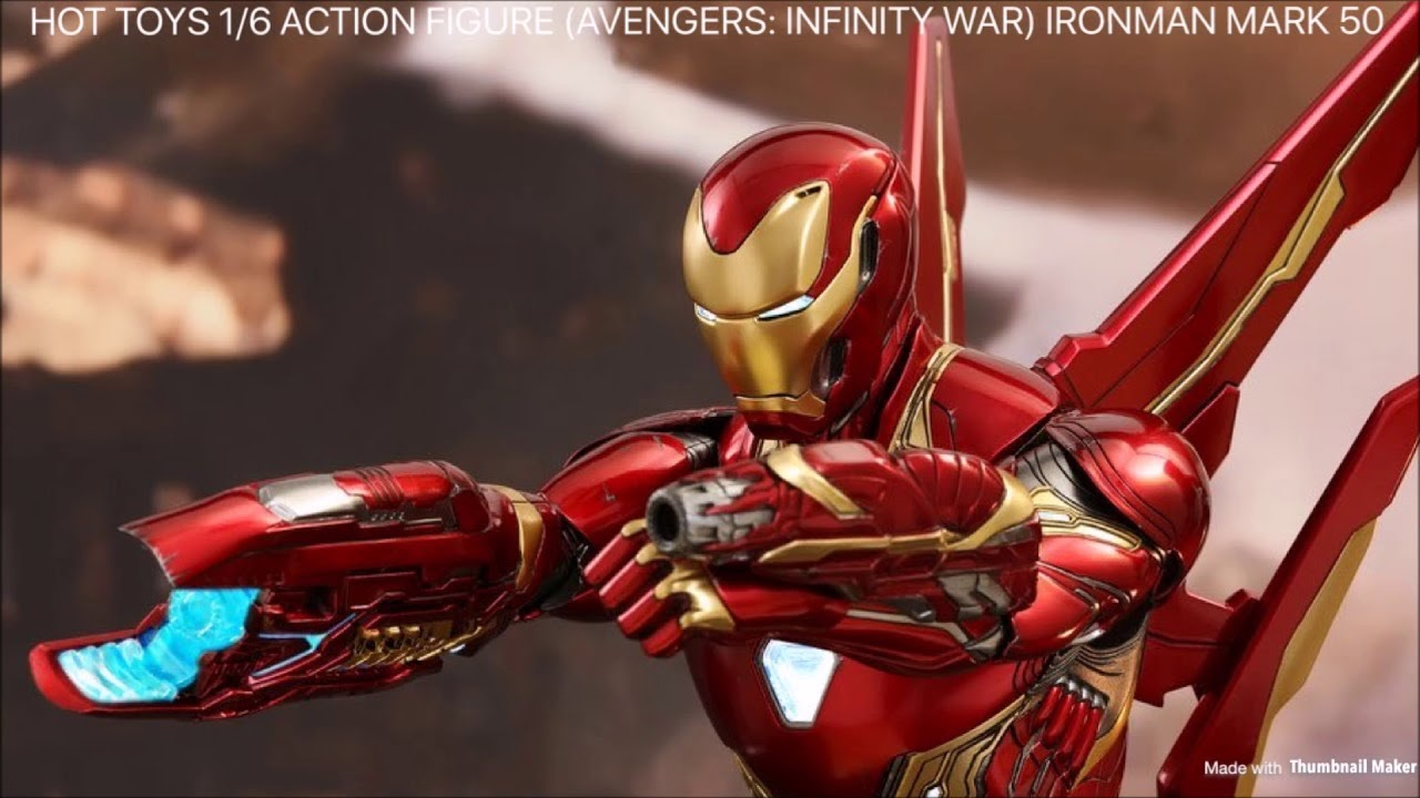 preview s.h.figuarts iron man mark 50 (avengers / infinity war