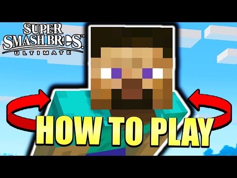 How to Play Minecraft Steve – Smash Ultimate Tutorial