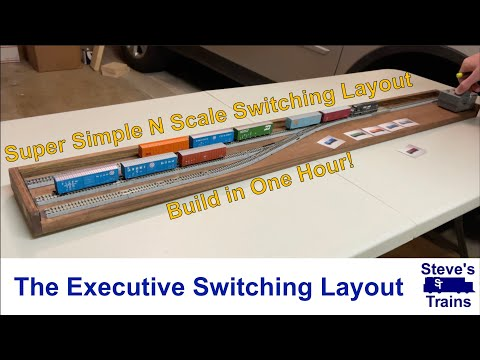 Super Simple N Scale Switching Layout