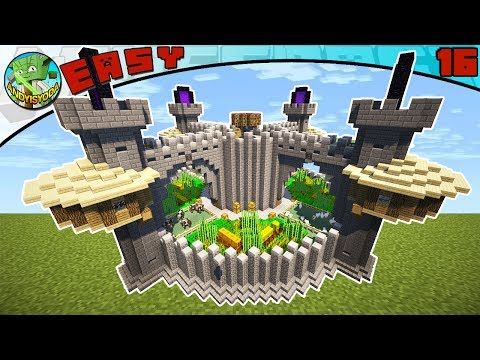 4-PLAYER SURVIVAL BASE by andyisyoda (Minecraft EASY Build #16)