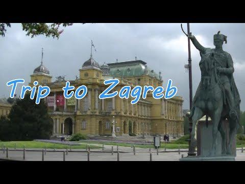 Trip to Zagreb Croatia