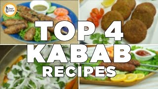 Make Kababs 4 ways. Shami , Seekh , Somoky yogurt kabab all recipes in one video  By Food Fusion