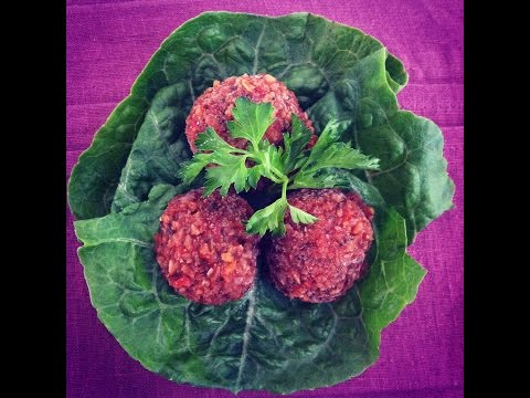 Raw Vegan Italian Meatballs & Raw Foods Education with Abby Cahn Anton