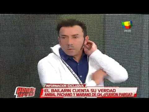 """Aníbal Pachano habló de su relación con Mariano de """"Gran Hermano 2015"""""""
