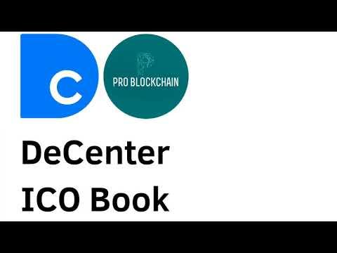 DeCenter ICO Book - аудиоверсия от PRO BLOCKCHAIN