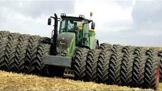 The world's largest tractors !!! Monster tractors