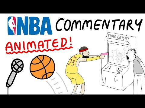 Crazy NBA Commentary, Animated! (Part 1)