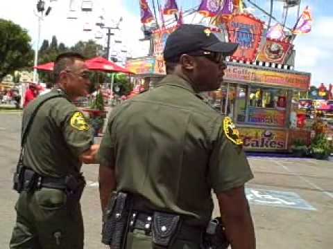 Orange County Sheriff Reserves at the OC Fair 2009 - YouTube