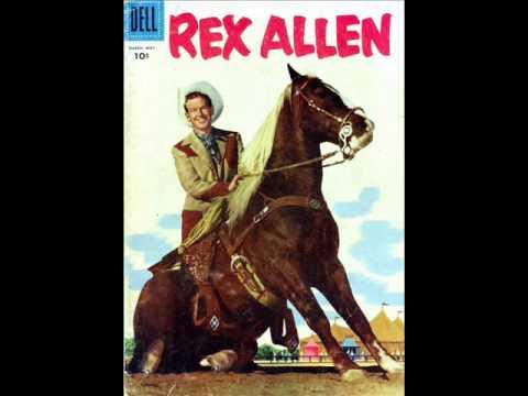 Rex Allen sings The Cowboy's Dream