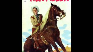 Rex Allen sings The Cowboy