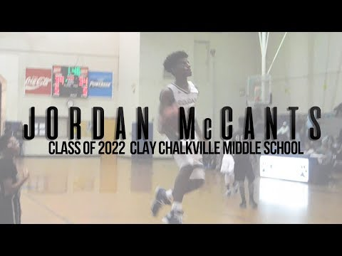 Smooth PG Jordan McCants From Clay Chalkville Middle School