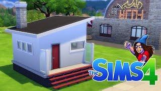ET BiTTELiTE HUS | Norsk The Sims 4 | Bygging!