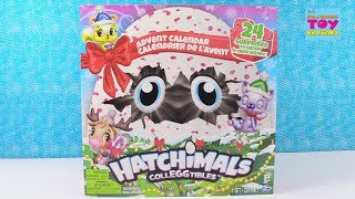 Hatchimals Colleggtibles Advent Calendar Unboxing Toy Review Fun | PSToyReviews
