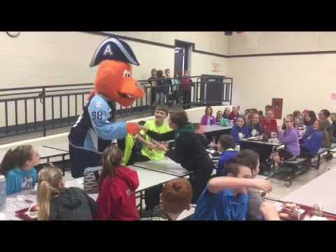 Big Bend Elementary School Welcomes Roscoe!
