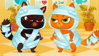 КОТЕНОК БУБУ #78 / Котик встретил злого кота Черныша - мультик игра для детей #ПУРУМЧАТА