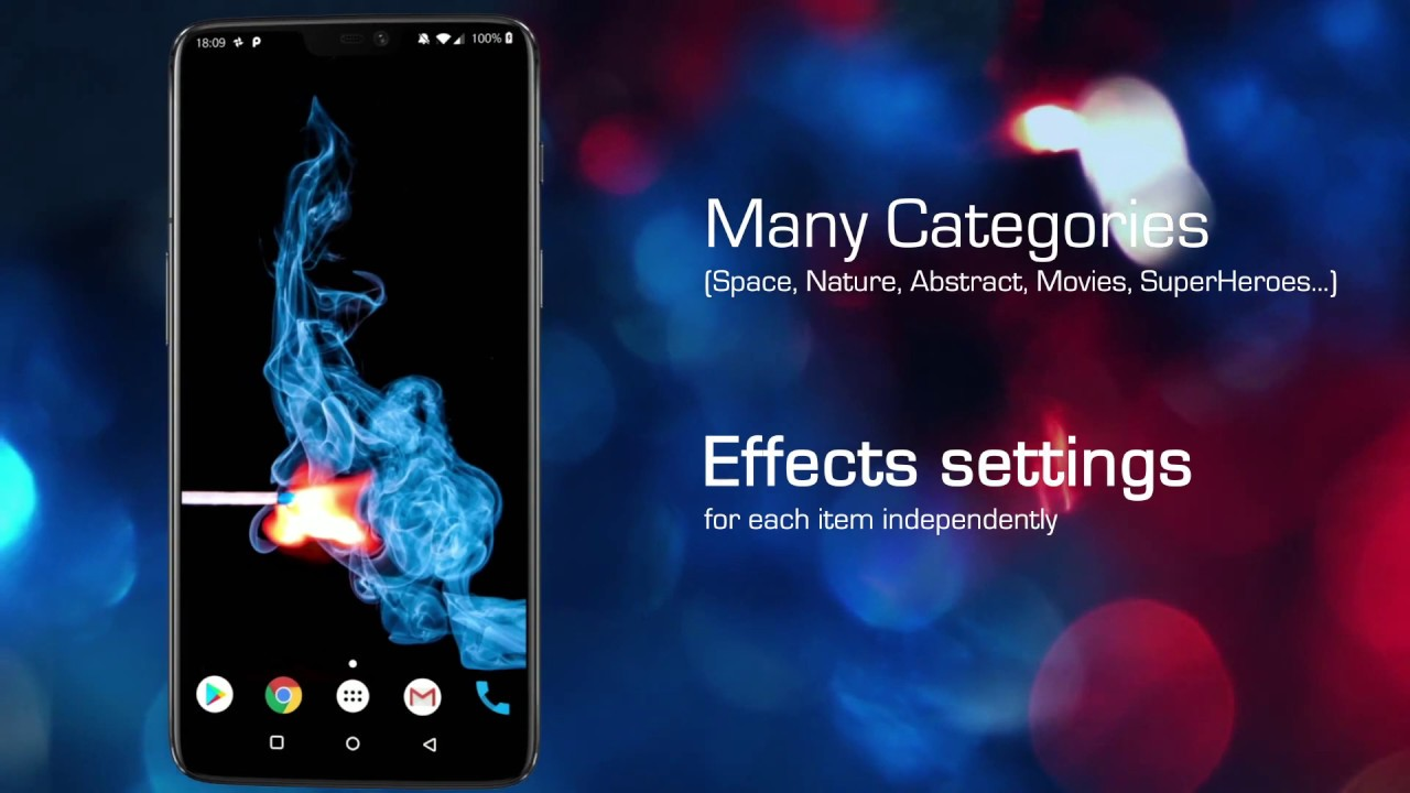 Live Wallpapers 4d App For Samsung Galaxy S10 Plus S7 S8 S9