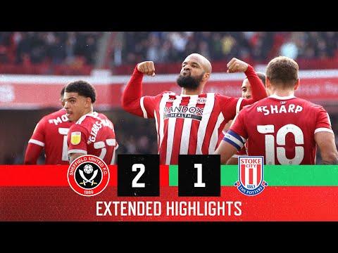 Sheffield Utd Stoke Goals And Highlights
