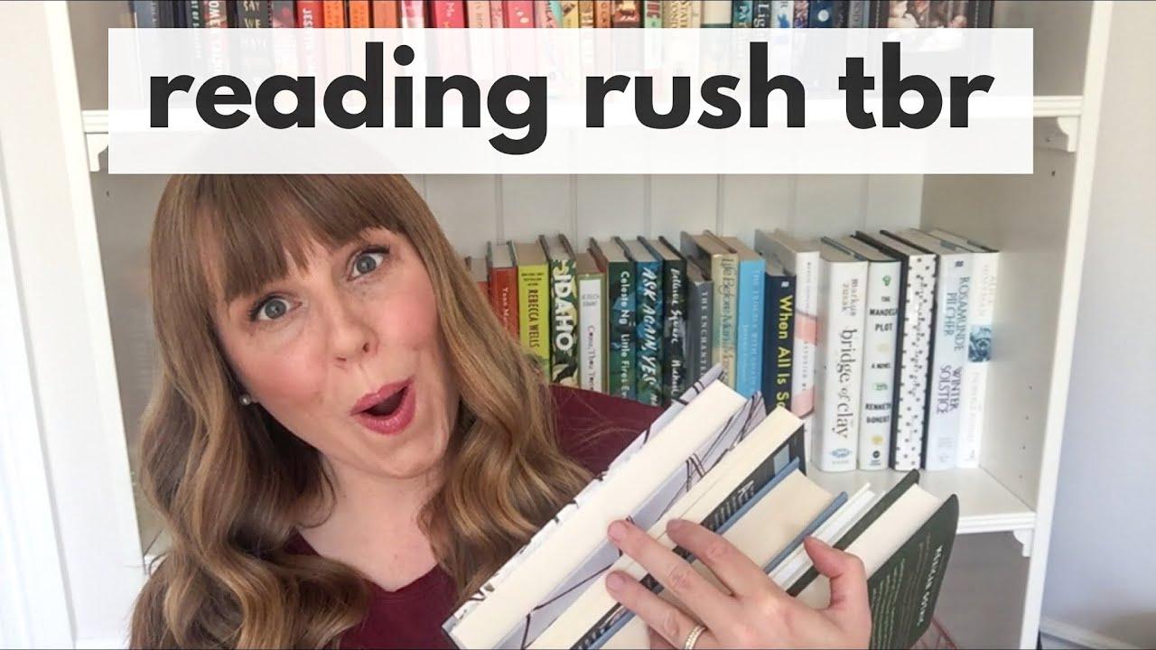 Reading Rush 2020 TBR