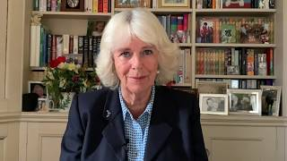 The Duchess of Cornwall sends a message to the Royal Naval Medical Service