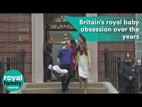 Britain's royal baby obsession over the years