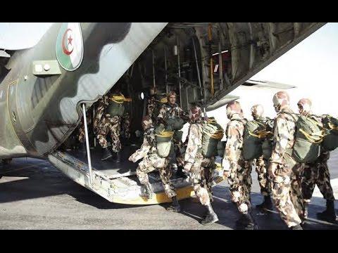 الجيش الجزائري وحدات مكافحة الارهاب (القوات الخاصة) Training special units to combat terrorism