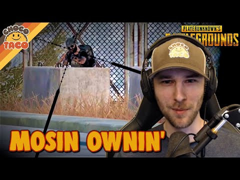 Ownin' with the Mosin ft. hollywoodbob - chocoTaco PUBG Duos Gameplay