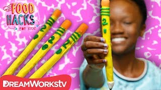 Edible School Supply Hacks | FOOD HACKS FOR KIDS