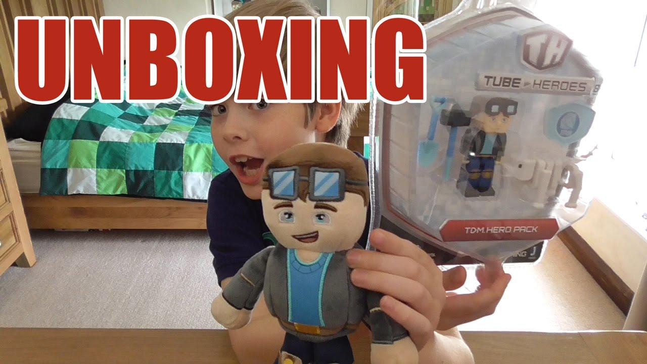 Unboxing: Tube Heroes - it's DanTDM + MORE!! - YouTube