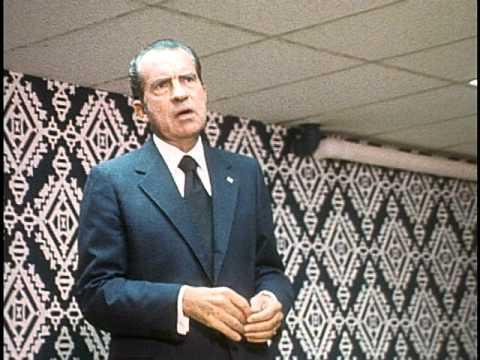 President Nixon Bowling (no sound)