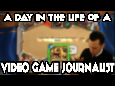 Day in the Life of a Video Game Journalist