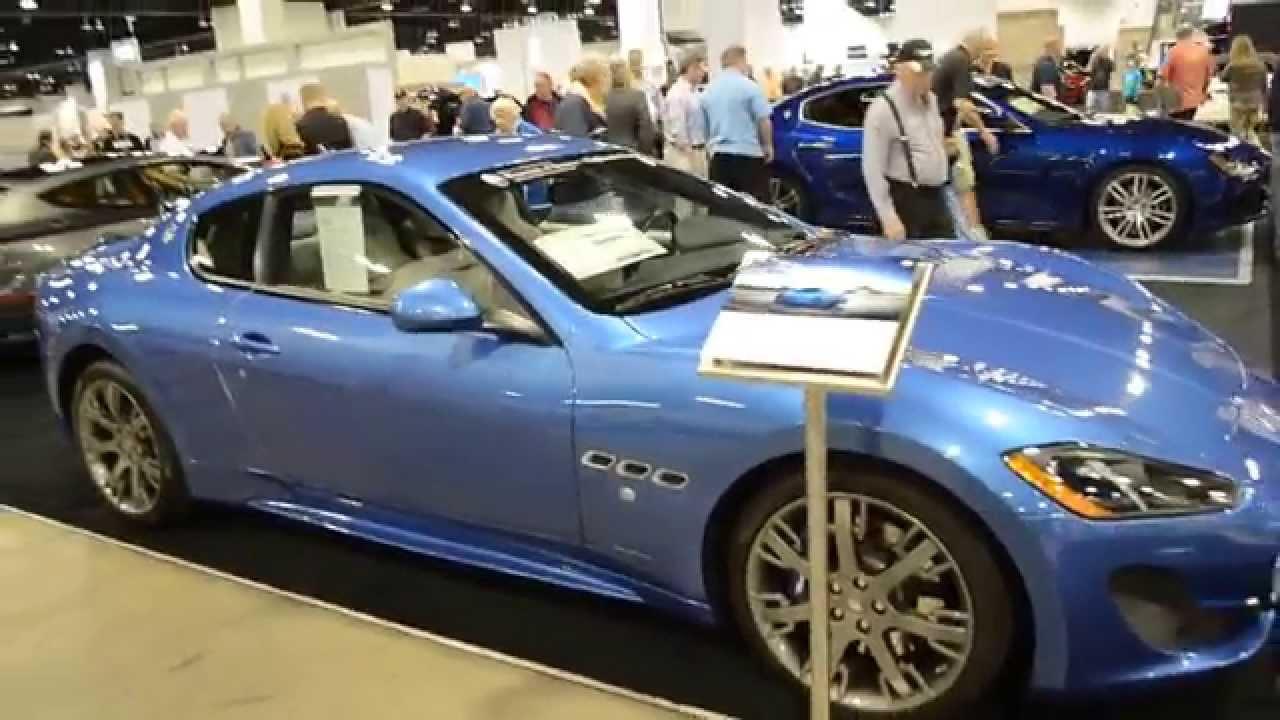 Maserati granturismo blue - photo#12
