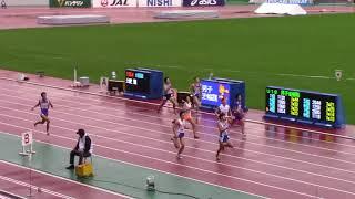 2017 U18陸上  男子400m 決勝A,B