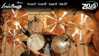 Zeus Cymbals - by Sonotec Music & Sound