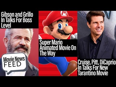 Super Mario Movie Coming, Tom Cruise In Tarantino Movie - Movie News Feed