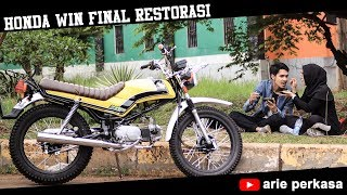 RESTORASI HONDA WIN100, FINAL EPS!!!