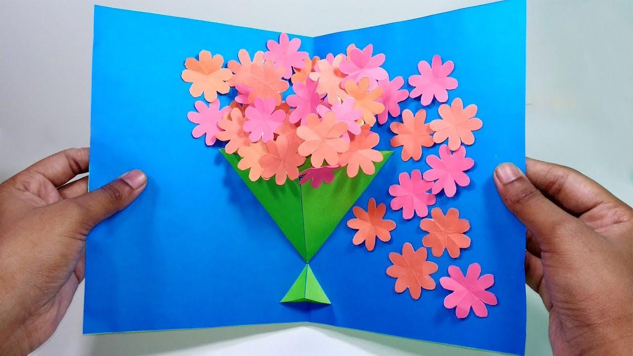 Diy flowers pop up card paper crafts handmade craft jarines diy flowers pop up card paper crafts handmade craft jarines crafty creation mightylinksfo