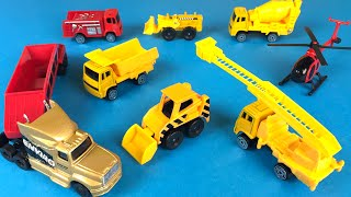 Maisto Fresh Metal Construction Mini Mighty Machines Bulldozers Excavator Dump Truck Construction