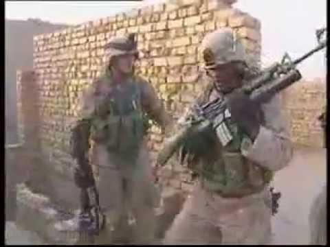 Marines in CQB Close Combat in Iraq