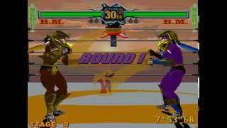 #433 Fighting Vipers (ARC) Boss Hack (1/4): B.M. playthrough.