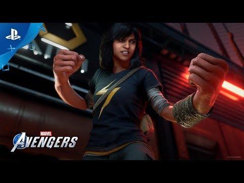 Marvel's Avengers - Kamala Khan Embiggen Trailer - PS4