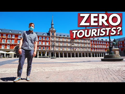 What's Spain Like Without Tourists?