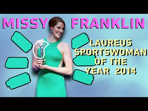 Missy Franklin Laureus World Sports Awards 2014 Acceptance Speech