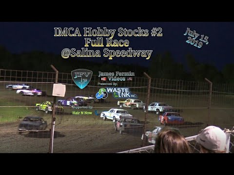 (IMCA) Hobby Stocks #2, Full Race, Salina Speedway, 07/05/19