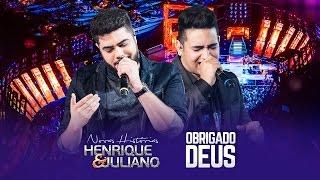 Henrique e Juliano – OBRIGADO DEUS – DVD Novas Histórias